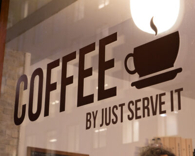coffee by just serve it
