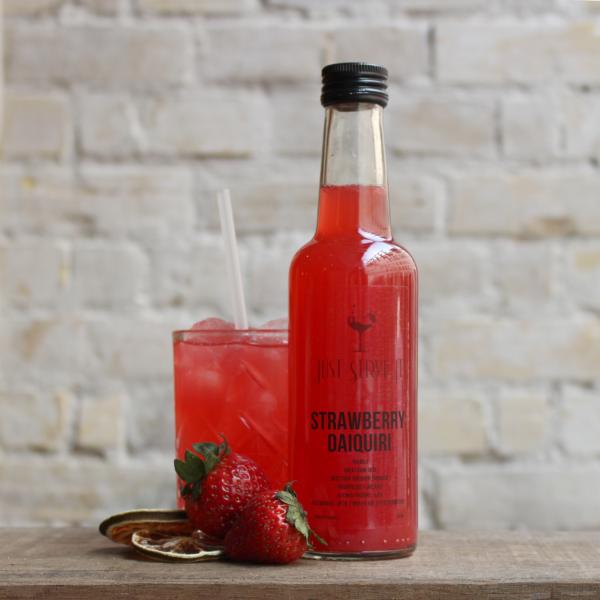 Strawberry Daiquiri drinks