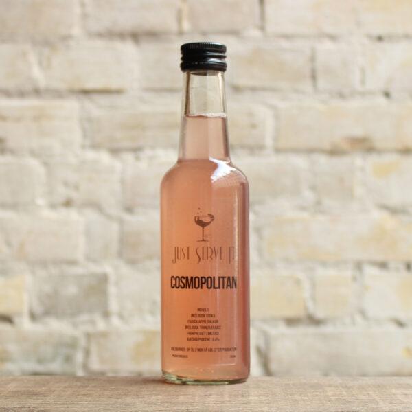 Produktbillede af Cosmopolitan cocktail på flaske