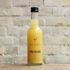 Piña Colada cocktail på flaske