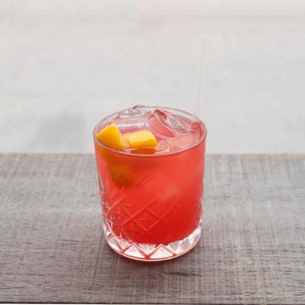 Summer Breeze serveret i cocktailglas
