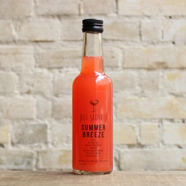 Produktbillede af Summer Breeze cocktail på flaske