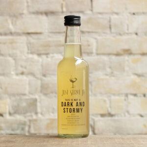 Produktbillede af This is not a Dark and Stormy cocktail på flaske