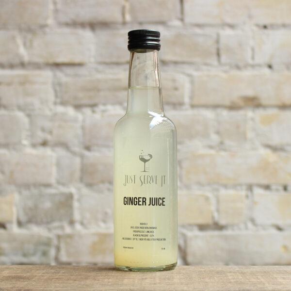 Produktbillede af Ginger Juice lemonade på flaske