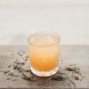 Hvid Gudinde Iced Tea serveret i glas
