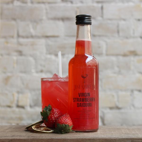 Virgin Strawberry Daiquiri drinks